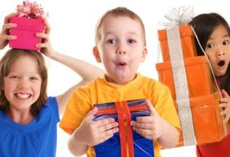 Почему не нужно дарить детям дорогие подарки