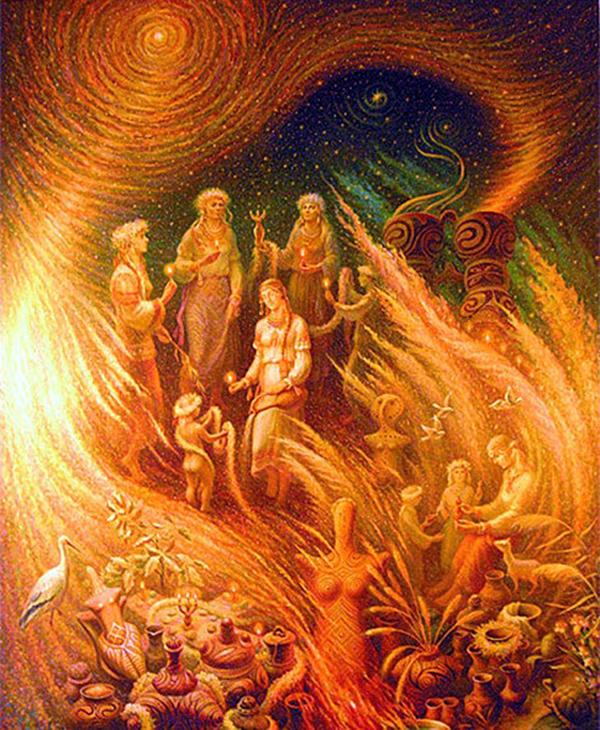 С 27 декабря начинаются 12 Программных дней Бога РОДА!