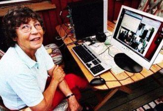 У 75-летней женщины из Швеции самый быстрый интернет в мире