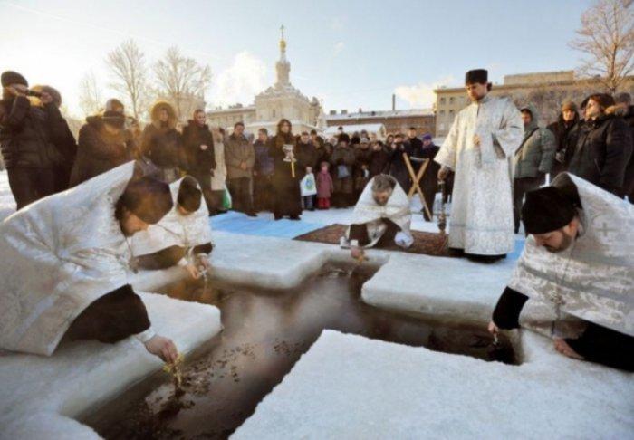 Ритуалы и обряды на Крещение