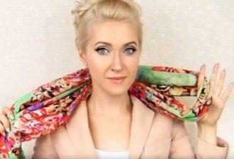 15 нетривиальных способов завязать шарфик.