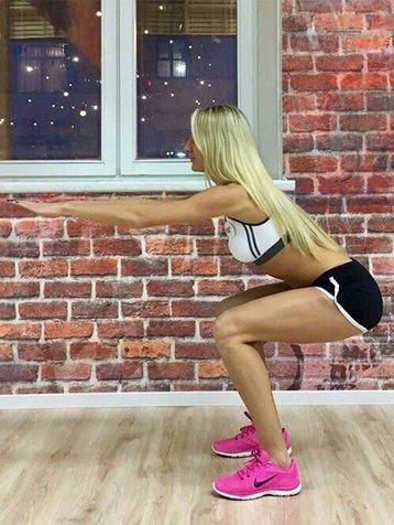 5 эффективных упражнений для красивой попы!