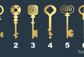 Выберите ключ, которым вы открыли бы старый сундук. Это расскажет о вас больше, чем вы думаете…