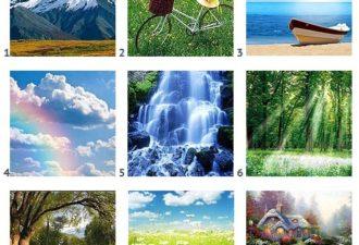 Тест. Выберите картинку и узнайте больше об особенностях вашего характера