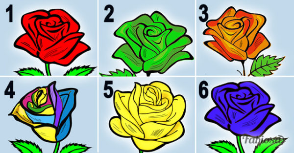Выберите самую красивую розу и узнайте самые красивые секреты вашего характера…