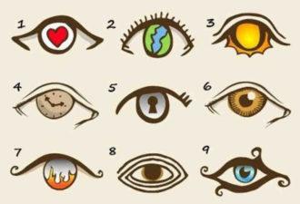 """Графический тест """"Посмотри в глаза"""". Достоверно о вашей личности."""