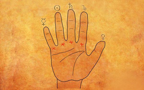 Гадание на ладони. 4 признака, что вы родились ведьмой