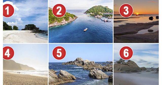 Выберите пляж для идеального отпуска и распознайте свою личность