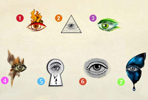 Выбери глаз и узнай, что это значит!