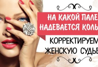 На какой палец надевается кольцо? Корректируем женскую судьбу