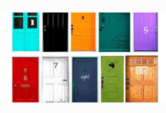 Тест: Выберите дверь, которую вы хотите открыть