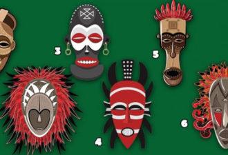 Выберите маску Вуду и получите совет от древних духов!