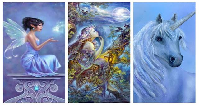 Выберите духовное существо и получите магическое послание!