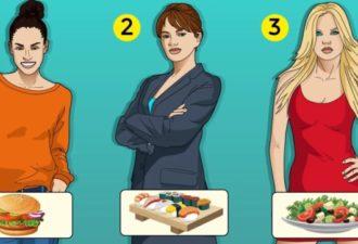 Узнайте больше о себе, исходя из ваших предпочтений в еде