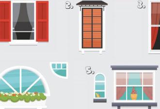Какое окно олицетворяет вашу жизнь? Ваш ответ расскажет, как вы относитесь к будущем!