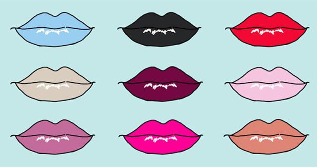 Выберите губную помаду и она расскажет все о вашей личности!