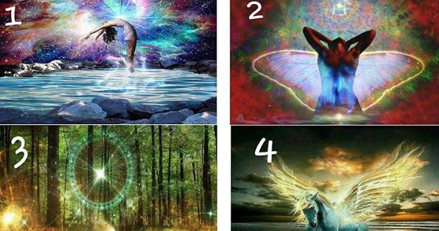 Выберите изображение и получите послание от Вселенной!