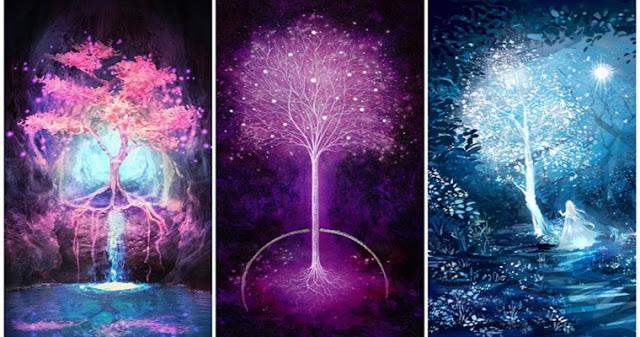 Выберите волшебное дерево и получите свой совет!