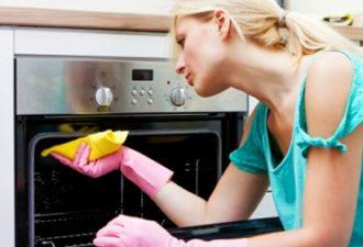 легко отмыть плиту за 5 минут