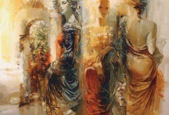 4 женских энергии: девочка- королева- хозяйка- любовница
