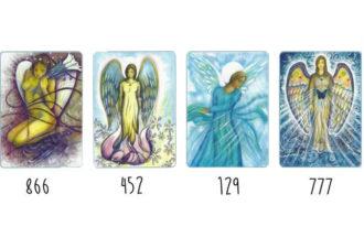 Выберите код ангела, который вас больше всего притягивает и получите послание на год!