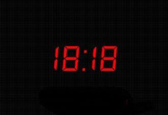 Что означают одинаковые числа на часах