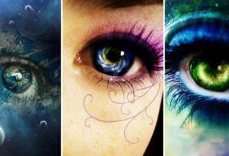 Выберите глаз и получите послание от Вселенной!